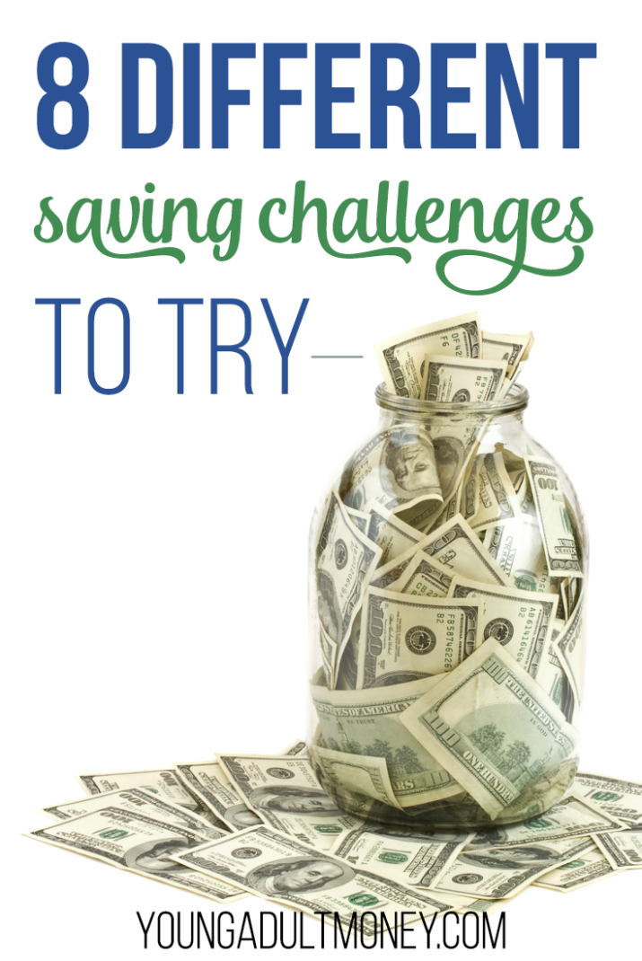 Looking to kick-start your savings? Try out one or more of these 8 different money saving challenges to help you save more money and reach your goals.