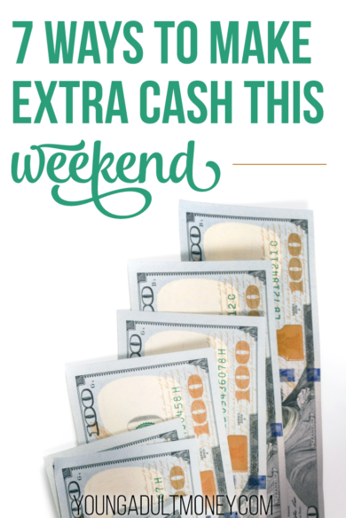 938864adb9f8 Have free time on the weekend  You can make some extra cash. Here s 7