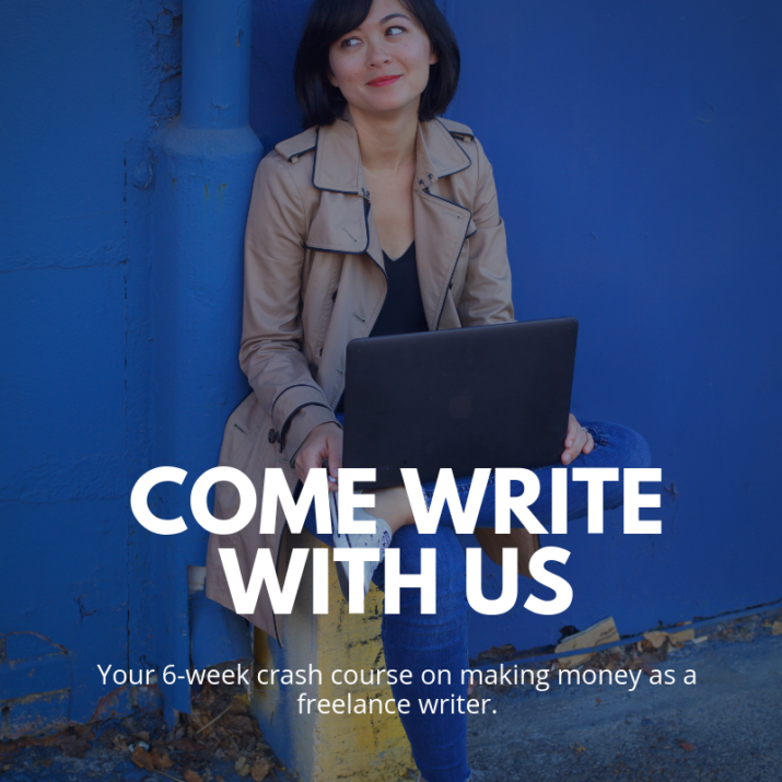 Come Write With Us Kristin Wong