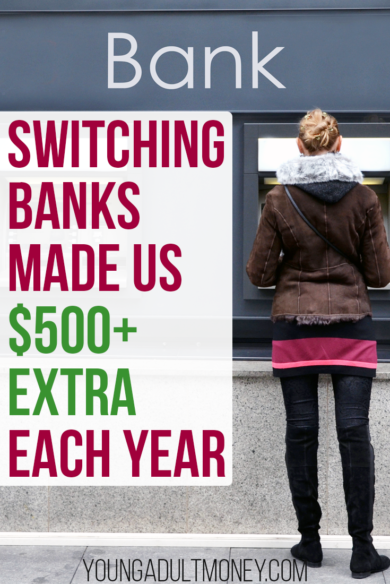 One of our bigger mistakes with our finances was letting our emergency fund sit in a terrible savings account. Here's how simply switching banks made us $500+ extra each year.