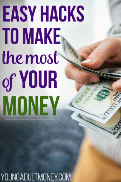 Easy Money Hacks to Level Up Your Money | Young Adult Money