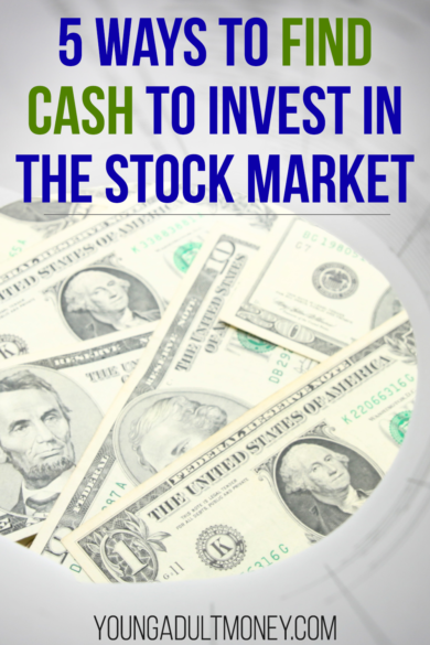 One of the keys to financial independence is building up your investments in the stock market. But how can you find extra cash to invest? Here are five different ways to increase cash flow to help build up the amount you have in the stock market.