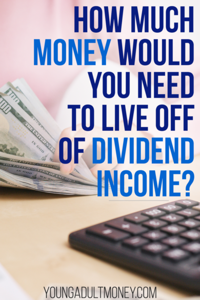 Dividend income is the ultimate passive income, but how much money would you need to live off of dividend income alone? We've got the answer.