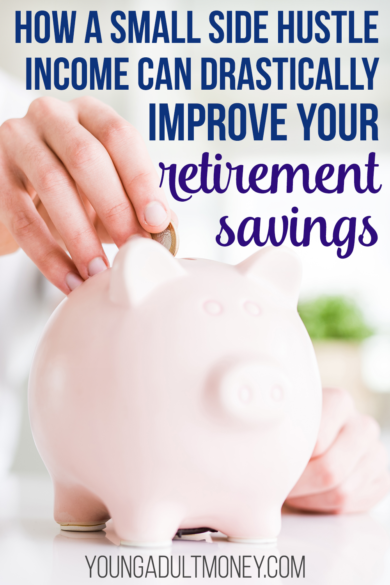 Even a few hundred dollars a month in side hustle income can have a big impact on your retirement savings - potentially hundreds of thousands of dollars! Here's a couple of examples that show how it's possible.