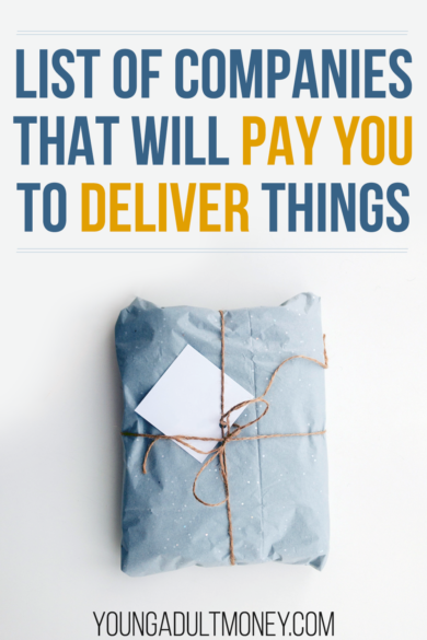 Looking to make extra money in your spare time? Or laid off due to COVID? Check out this list of companies that will pay you to deliver to their customers.